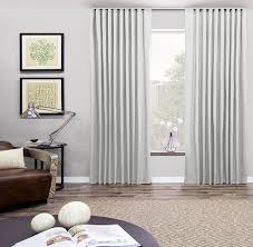custom ripple fold drapery u0026 curtains alluring window