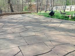 stamped concrete patio stamped stained concrete deck pool deck
