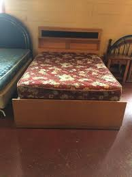 vintage full size bed w mattress set furniture home by owner