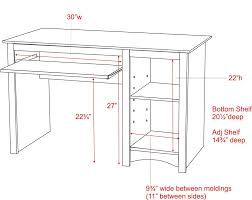 Ideal Standing Desk Height by Optimum Desk Height For Computer Table Thesecretconsul Com