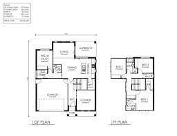 small 2 story floor plans home architecture house plan simple double story plans blueprint