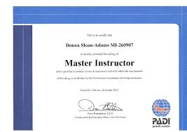 congrats donna padi master instructor joe u0027s scuba shackjoe u0027s
