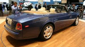 rolls royce drophead interior rolls royce drophead rain soaked interior could cost 100k video