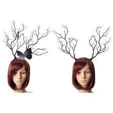 reindeer antlers headband luxury christmas elk reindeer antlers headband props