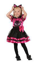 2 3 Halloween Costume Girls Cheshire Cat Costume Teen Kids Pink Kitty Fancy Dress