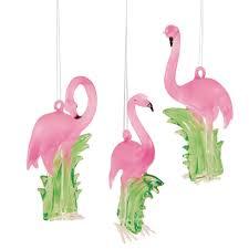 pink flamingo ornaments whyrll