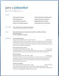 resume templates for professional resume template