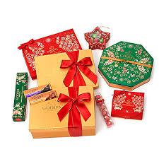 holiday luxury chocolate gift basket godiva