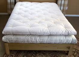 standard eco pure wool mattress topper organic cotton covered