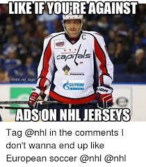 Soccer Hockey Meme - like tf youre against capitals as pochepte gazprom xport totalon