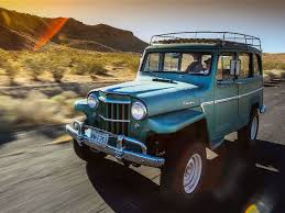 jeep station wagon 2018 1962 willys wagon first drive truck trend