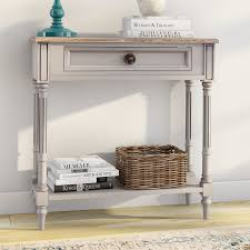 Apothecary Console Table Cottage U0026 Country Console U0026 Sofa Tables You U0027ll Love Wayfair