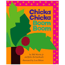 chicka boom boom book