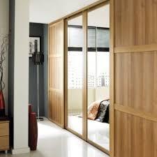 B Q Bedroom Furniture Offers B U0026q Mirrored Sliding Wall To Wall Wardrobe Door Oak Effect W