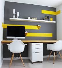 pourquoi décorer bureau avec du jaune bricobistro