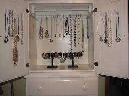Jewelry Armoire Antique White Antique Jewelry Armoires Ideas U2014 All Home Ideas And Decor