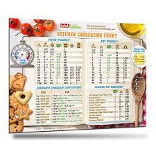 standard kitchen cabinet sizes magnet kitchen conversion chart baking cooking measurement conversion magnet 8 5 x 11
