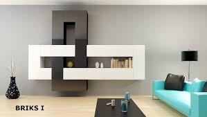 Wohnzimmerschrank F Kleidung 12 Teilige Modulare Designer Hochglanz Wohnwand Briks I Mit Großer