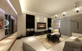 Wall Decor Living Room by Prepossessing 10 Modern Living Room With Tv Decorating Design Of