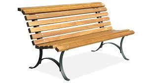 panchine legno panchina in acciaio zincato e legno per arredo urbano modello