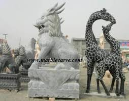 qilin statue marble statue sculpture garden carvings carved factory direct