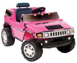 motorized car new girls pink ride on hummer electric 6v suv toy motorized barbie