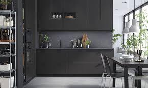 ikea cuisines kungsbacka nouvelles facades noires chez ikea cuisine method