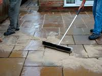 Pointing Patio Filling Gaps Between Patio Tiles Paving Stones Blocks Cobbles