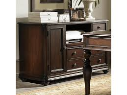 computer desk and credenza liberty furniture kingston plantation 720 ho121 credenza with pull