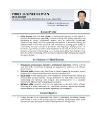 Electrical Engineering Resumes Qc Electrical Engineer Resume Resume For Your Job Application