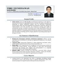 Resume Samples Qa Engineer by Qa Qc Engineer Resume Sample Resume For Your Job Application