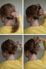 Hochsteckfrisurenen Leicht Selber Machen by Hochsteckfrisuren Selber Machen Mittellanges Haar Einfach Archives