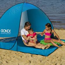 Walmart Cabana Tent by Gonex Lightweight Beach Shade Tent Sun Shelter Automatic Pop Up