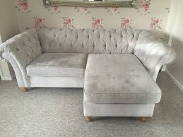 Next Corner Sofa Bed Grey Chesterfield Sofa Next 1025theparty