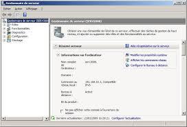 service bureau à distance dossier installer et paramétrer terminal serveur sous windows 2008