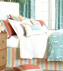 Coral And Turquoise Curtains Decoration Coral And Turquoise Bedroom Navy Ideas Coral And