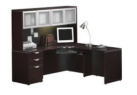 Corner Desk Cherry by Decorating Using Elegant Corner Desk With Hutch For Awesome Home