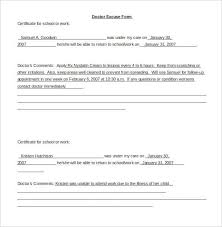 doctor note template free 22 doctors note templates free sle exle format
