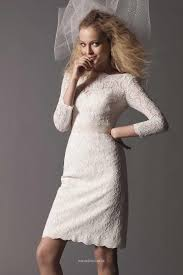 white lace dress with sleeves knee length ivory boat neck lace knee length bridesmaid dress uk with 3 4