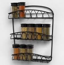 kitchen wall storage ideas kitchen gorgeous wall hanging kitchen spice rack crafted from
