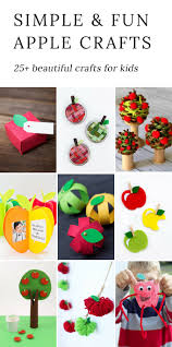 simple and fun apple crafts for kids
