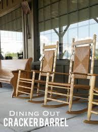 Cracker Barrel Rocking Chair Out Cracker Barrel