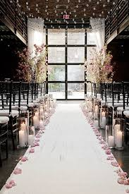 wedding aisle decorations 20 awesome indoor wedding ceremony décoration ideas