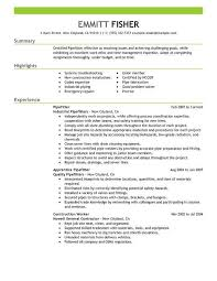 Resume Templates For Construction Workers Government Contractor Resume Professional Government Contracting