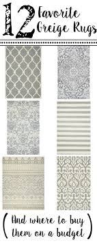 Where To Buy Area Rug 12 Favorite Greige Rugs And Where To Buy Them On A Budget