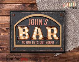 bar decor bar decor etsy