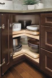 Lazy Susans For Cabinets by Asymmetrical Lazy Susan Cabinet Homecrest