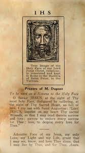 Chaplet Of The Holy Face Prayer Card Pdf Meditations From Carmel
