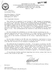 internment archives army letter to rep nielson on release of