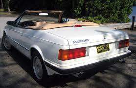 maserati karif carproperty com for the real estate needs of car collectors 1989